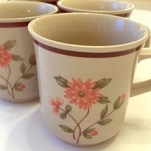 Other - Vintage 70s Coffee Mugs